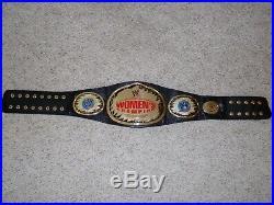 Wwe Authentic Attitude Era Womens Championship Metal Adult Replica Title Belt