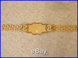 Wwe Authentic Million Dollar Championship Metal Adult Size Replica Title Belt $$