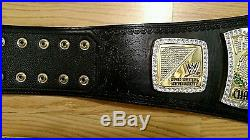 Wwe Authentic Replica Championship Spinner Belt Adult size 56 56023N1 Leather