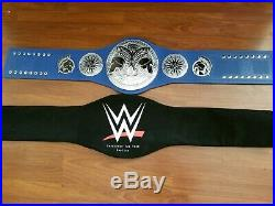 Wwe Authentic Smackdown Tag Team Championship Metal Adult Replica Title Belt