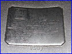 Wwe Authentic Undisputed Championship Metal Adult Replica Wrestling Title Belt
