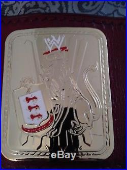 Wwe Big Eagle championship wrestling belt releathered attitude era wwf