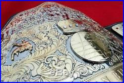 Wwe Big Gold 4mm Thick Plates Championship Belt Adult Size