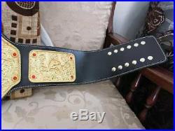 Wwe Big Gold Wrestling Championship 3d Hd Belt