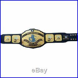 Wwe Black Intercontinental Championship Adult Size Metal Replica Belt