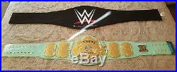 Wwe Blue Winged Eagle Replica Championship Title Belt. Real Metal Plates