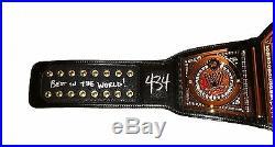 Wwe CM Punk Hand Signed Autographed World Heavyweight Championship Belt With Coa