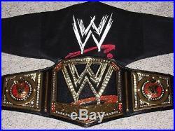 Wwe Championship 2013 The Rock Version Metal Adult Size Raw Replica Title Belt