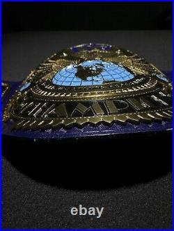 Wwe Championship Belt. Wwf Big Eagle Attitude Era Releathered Replica Belt