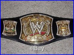 Wwe Championship John Cena Spinning Spinner Metal Adult Raw Replica Title Belt