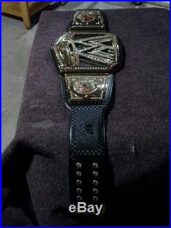 Wwe Championship Title Belt Big Scratch Logo Commemorative