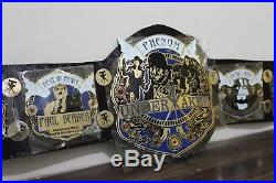 Wwe Championship Undertaker Wrestling Title Gold Plated Adult Size Belt