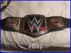 Wwe Commemorative Championship wrestling Belt John Cena Ric Flair
