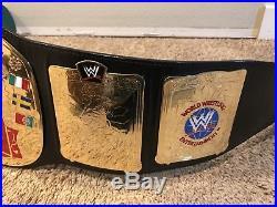 Wwe European Championship Replica Wrestling Belt