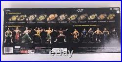 Wwe Hardcore Wrestling Championship Belt / Mick Foley And Edge Figures Wwf Jakks