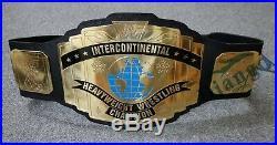 Wwe Intercontinental Championship Replica Classic Wwf Belt 2mm Thick Plates