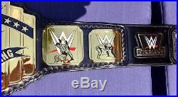 Wwe Intercontinental Releathered Championship Wrestling Belt Mike Nicolau 4mm