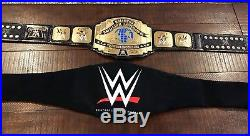 Wwe Intercontinental Releathered Championship Wrestling Belt Mike Nicolau 4mm