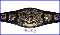 Wwe Kurt Angle Hand Signed Undisputed Championship Adult Belt With Pic Proof
