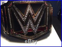 Wwe Metal Championship Adult Belt Gold