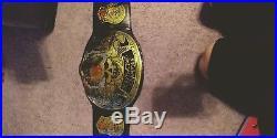 Wwe Smoking Skull Stone Cold Championship Wrestling Belt Title Wwf Adult Size
