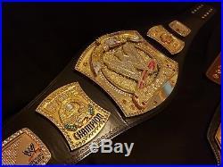 Wwe Spinner Championship Belt Replica- Adult Size John Cena Raw Plates