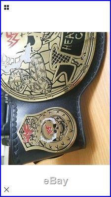 Wwe Stone Cold Smoking Skull Championship Replica Belt In Thick Brass Plates