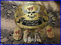 Wwe Stone Cold Smoking Skull Heavy Weight Championship 24k Gold Plated Belt