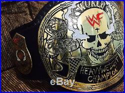 Wwe Stone Cold Smoking Skull Heavy Weight Championship Replica Belt 4mm Brass