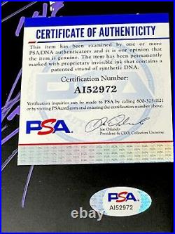 Wwe The Undertaker Hand Signed Inscribed Mini Legacy Title Belt With Psa Dna Coa