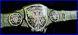 Wwe Undertaker Championship Belt 4mm Plates And 3mm Leather (Replica)