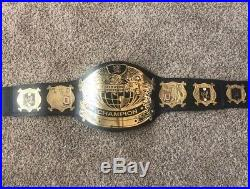 Wwe Undisputed Championship Belt Replica Metal Leather Adult Size