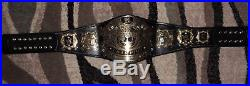 Wwe Undisputed V1 Championship Adult Replica Belt RELEATHERED & RESTONED