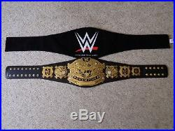 Wwe Undisputed World Championship 2002-2005 Metal Adult Size Replica Title Belt
