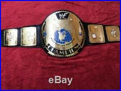 Wwe United States Championship Belt In 4mm Brass Plates