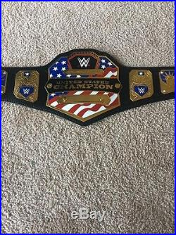 Wwe United States Championship Replica Belt