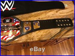Wwe United States Replica Championship Wrestling Belt Adult Size Wwf Us Title