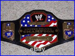Wwe United States Us Championship Metal Adult Size Replica Smackdown Title Belt