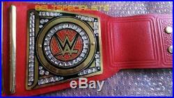 Wwe Universal Championship Title Belt Adult Size 2mm Brass