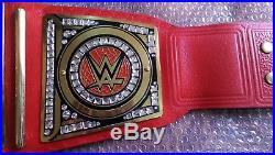 Wwe Universal Championship Wrestling Gold Plated Adult Size Title Belt