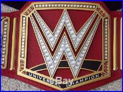 Wwe Universal Heavyweight Championship Metal Adult Size Raw Replica Title Belt