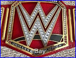 Wwe Universal Releathered Championship Wrestling Belt Officially Licensed