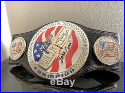 Wwe Us United States Spinner Replica Belt Championship Title