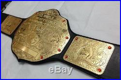 Wwe Wcw Big Gold World Heavyweight Championship Replica Belt (with Box)