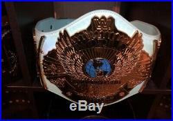Wwe Winged Eagle World Heavyweight Championship Title Belt (wwf, Wcw, Nwa, Aew)