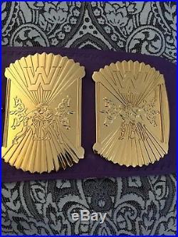 Wwe Winged Eagle championship wrestling belt releathered wwf wcw nwa tna ecw