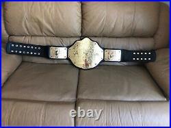 Wwe World Heavyweight Big Gold Championship Replica Belt