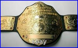 Wwe World Heavyweight Big Gold Championship Replica Belt 2mm Bras Adult Size