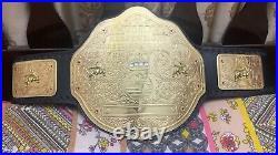 Wwe World Heavyweight Big Gold Championship Replica Belt 2mm Brass Adult Size
