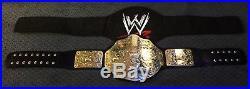Wwe World Heavyweight Championship Adult Replica Belt Wwf Wcw 2013 Ecw Tna Nwa